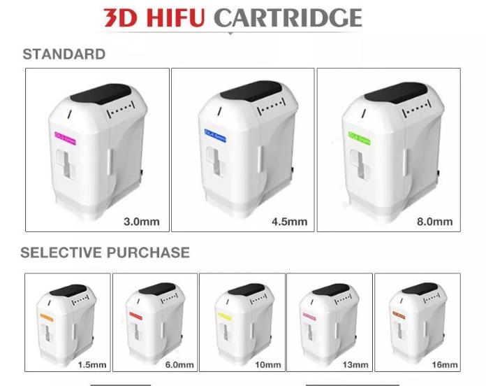 8 cartridges optinoal