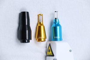 3 treatment laser tips