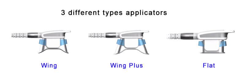 cryolipolysis machine applicators