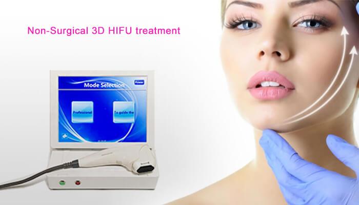 Non-surgical 3D hifu treatment