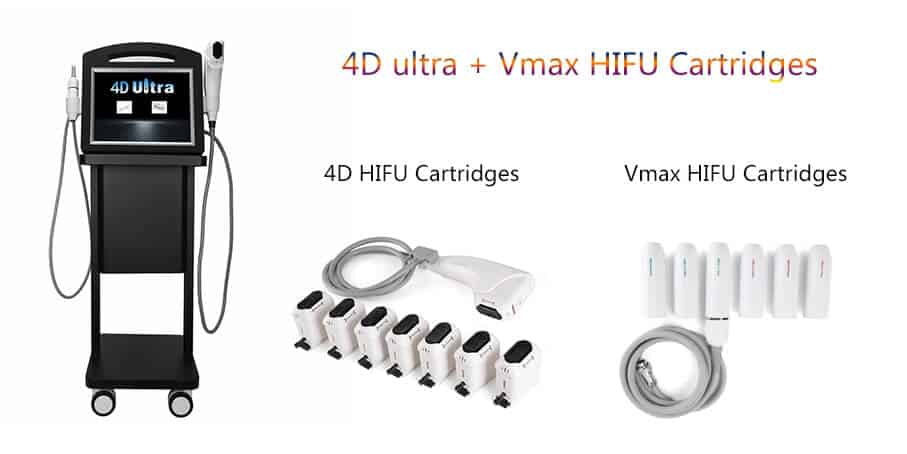 4D HIFU machine with Vmax HIFU