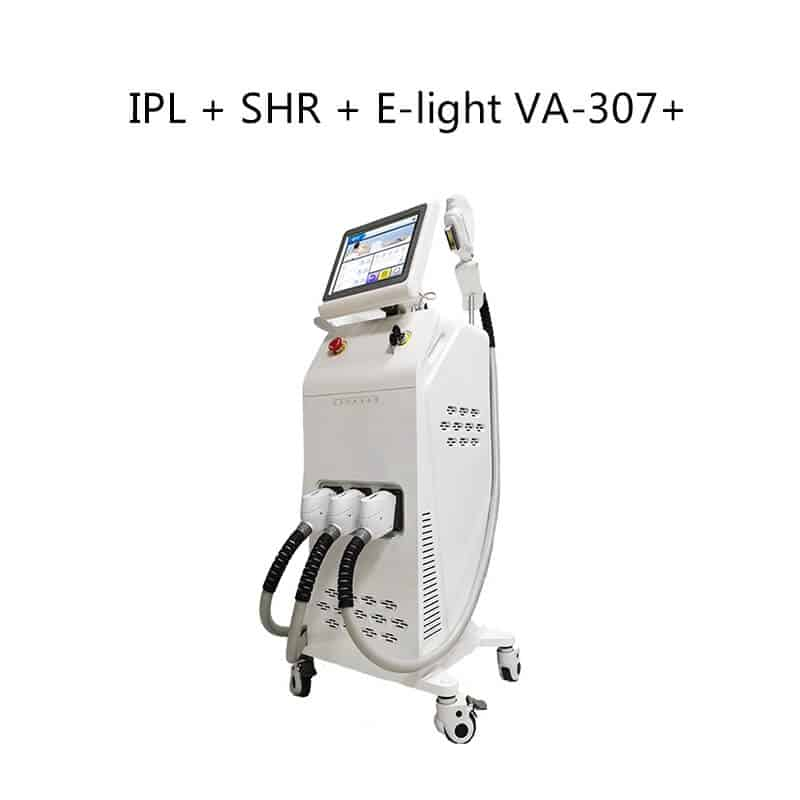 IPL + SHR + E-light VA-370+