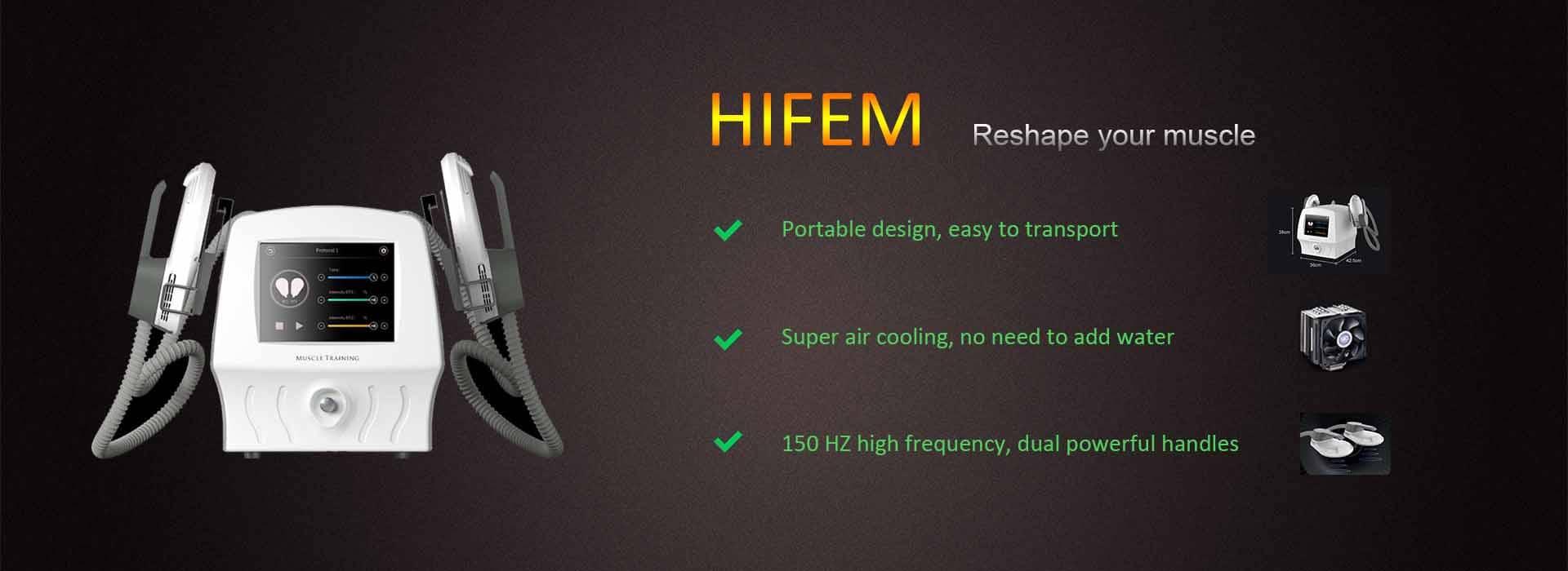 HIFEM machine promotion